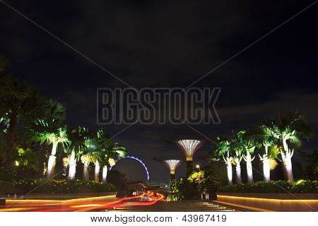 Front Of Garden By The Bay