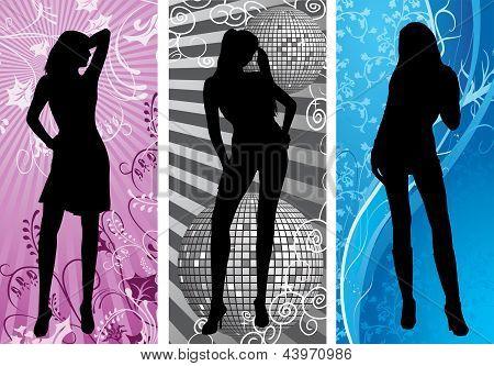 disco silhouette