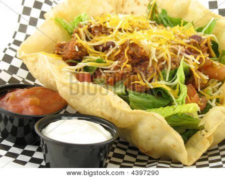 Taco Salad Close