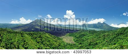 Mount Batur- One of the famous volcanos in Indonesia