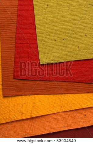 Close up of handmade paper for background poster