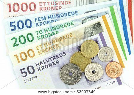 Danish kroner ( DKK ).