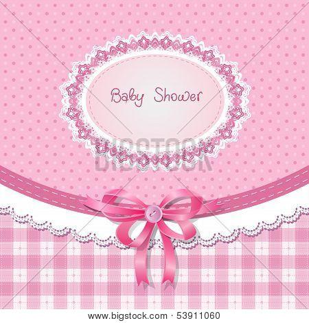 Baby shower for girl