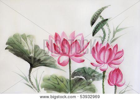 Three Lotuses