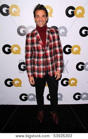 LOS ANGELES - NOV 12:  George Kotsiopoulos at the GQ 2013