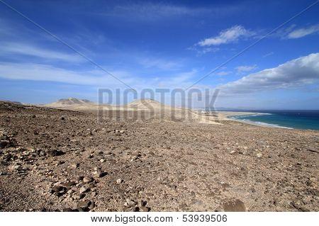 Sotavento mirador (Fuerteventura - Spain)