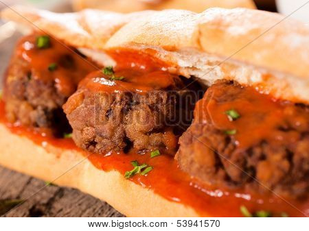 Meat In The Bread