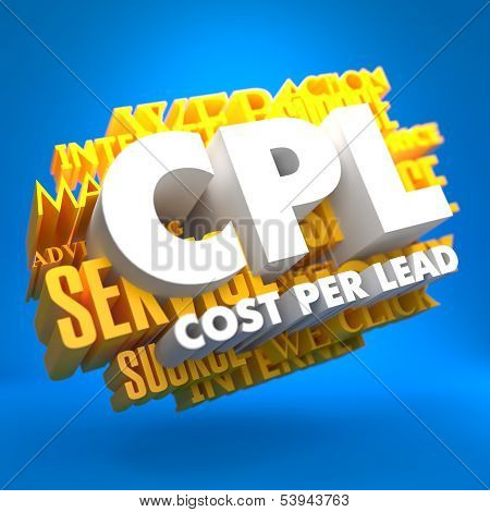 CPL. Business Concept.