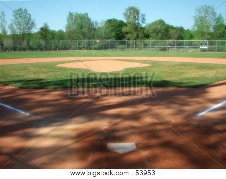 Spring Baseball Diamond