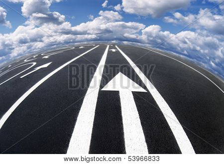 Road markings and lines