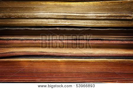 Aged Books Background