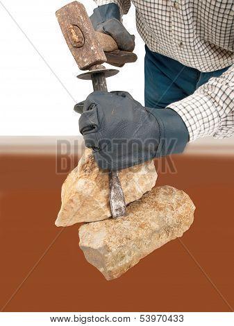 Stone-work