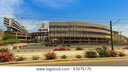 A Sun Devil Stadium Shot, Tempe, Arizona