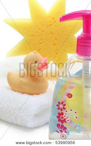baby spa on white