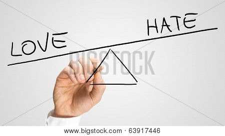 Love Conquering Hate