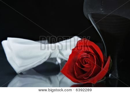 Rose, Shoe And Bow-tie