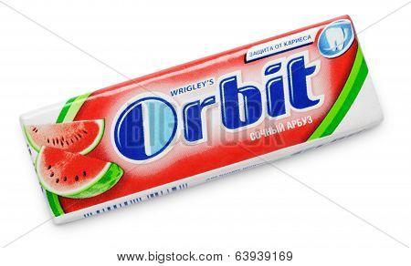 Chewing Gum Orbit Watermelon
