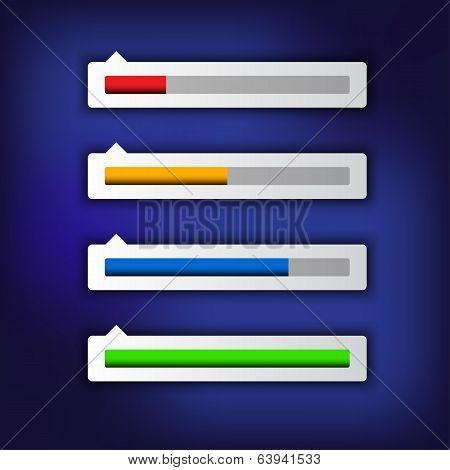 Simple modern loading bar