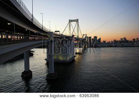 Rainbow Bridge, Japan