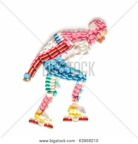 Inline Speed Skating.