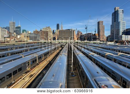 West Side Train Yard