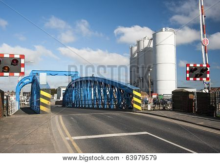 Dockyard swing bridge