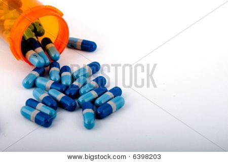Pills With Container