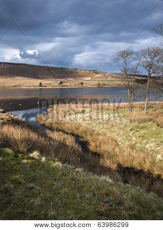 Yorkshire moorland reservoir