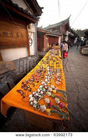 Souvenir Shop In Lijiang Dayan Old Town .