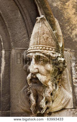 Saint Patrick Stone Carving