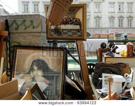 The Flea Market in Vienna