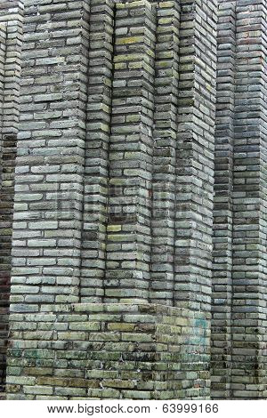 Gray Bricks in a Wall