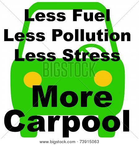 less is more carpool