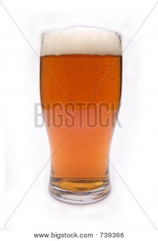 Pint of real ale