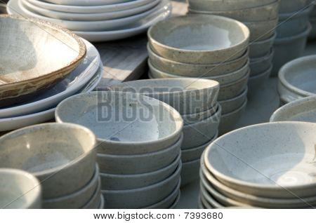 koreanischer Keramik Küche