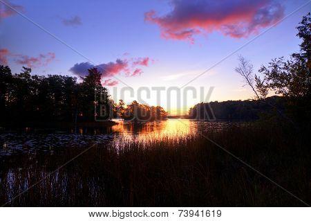 Wilderness Lake Sunrise