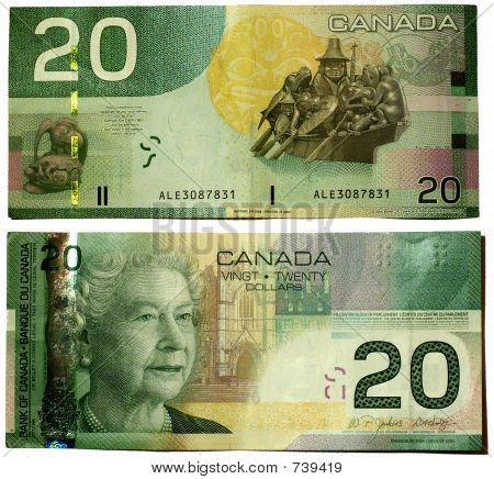canadian dollars bank notes