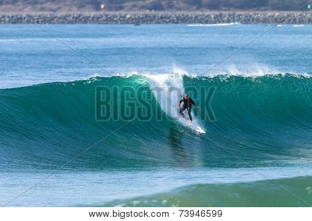 Surfing Surfer Wave Action