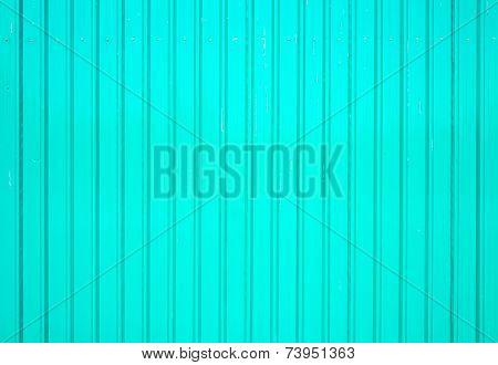 Metal sheet wall