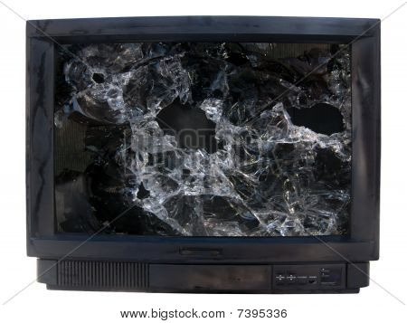Glass  Broken  Tv