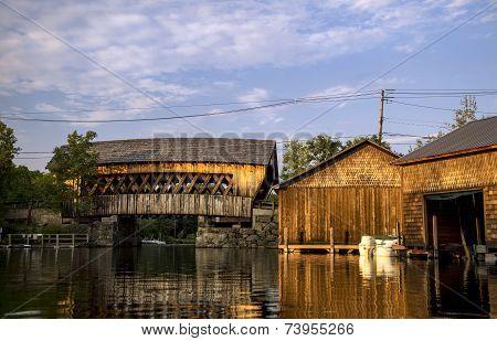 Squam River Bridge (#65), Ashland, New Hampshire