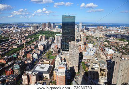 Boston Skyline, Massachusetts, USA
