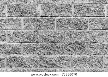 Rough Concrete Wall Of Gray Color