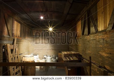 Inside The Boxcar