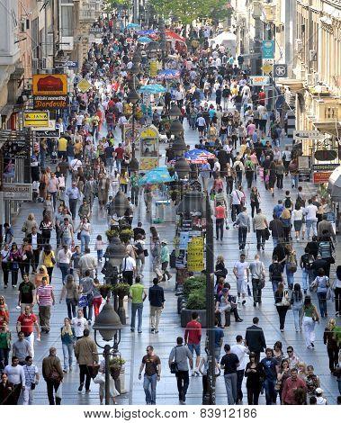 Pedestrians street