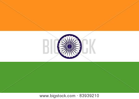 The Official Flag Of India