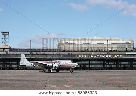 Berlin Tempelhof airport in Germany
