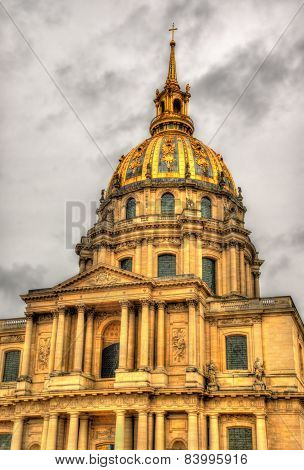 Eglise du Dome at Les Invalides - Paris poster