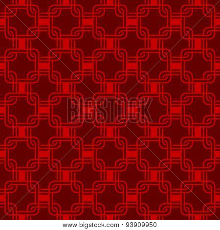 Seamless Chinese Style Arranged In A Crisscross Saquare Pattern