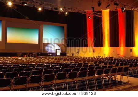 Colourful Conference Room